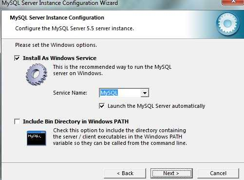 Как установить MySQL сервер на локальный компьютер?