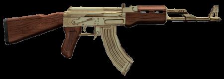 Модель AK-47 Cenizo Golden для КС 1.6