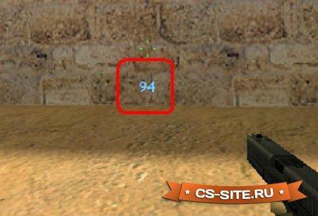Плагин «Damager — показывает нанесенный урон» для CS 1.6