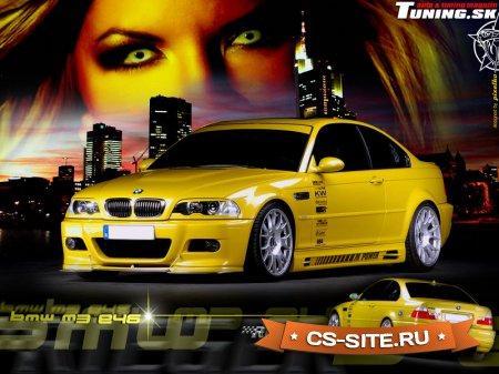 Тема меню «BMW E46» для CS 1.6