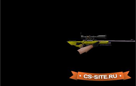 Модель AWP «Yellow Dragon» для CS 1.6