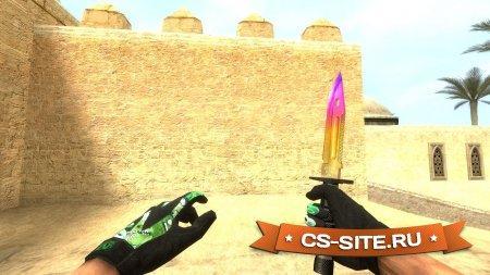 Модель ножа «Штык-нож M9 | Градиент» для CS:S