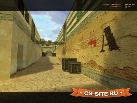 Карта De_Hell для CS 1.6