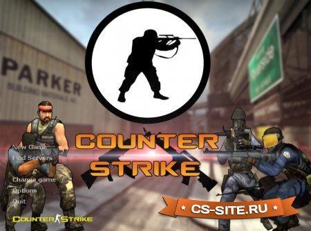 Тема меню «Counter Strike» для CS 1.6