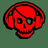 Логотип «Череп в наушниках» для CS 1.6