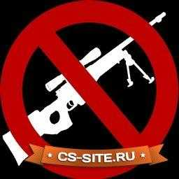 Логотип «No AWP» для CS 1.6