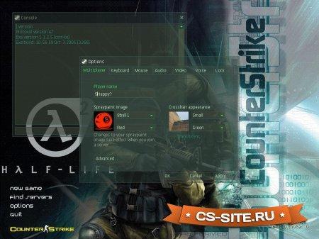 Тема меню «Origin IV» для CS 1.6