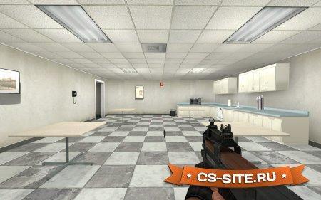Стандартная модель P90 из CS:GO для CS: Source
