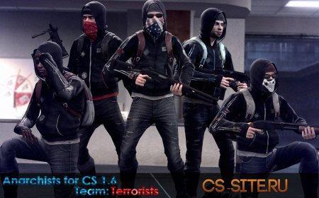 Модели игроков «Anarchists» из CS:GO для CS 1.6