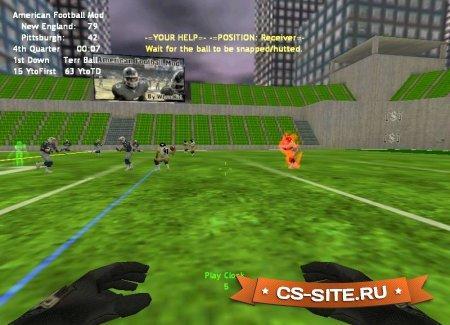 Мод «American Football Mod V.5.0» для CS 1.6
