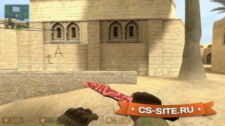 Модель ножа «Охотничий нож | Убийство — Slaughter» для CSS