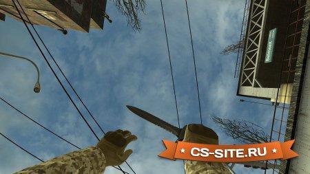 Стандартный нож CT из CS:GO для CSS