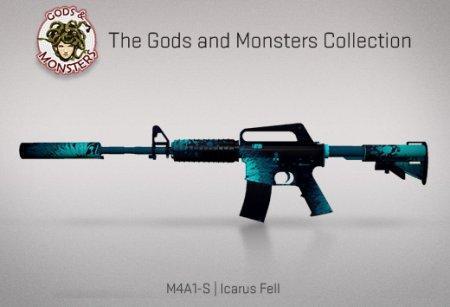 Модель M4A1 «Icarus Fell» для CSS