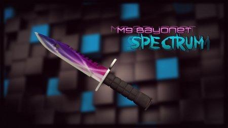 Модель ножа «M9 Bayonet   Spectrum» для CS 1.6