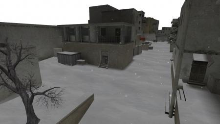 Карта De_Dust2Winter из CS:GO для CS 1.6