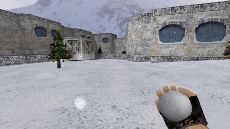 Модель слеповой гранаты «Снежок» для CS 1.6