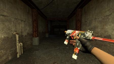 Модель MP9 «Bloodsport» для CSS