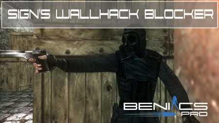 """Защита """" Sign's Wallhack Blocker' » Плагины, модели оружия, готовые сборки серверов для CS 1.6, CS:GO, CSS"""