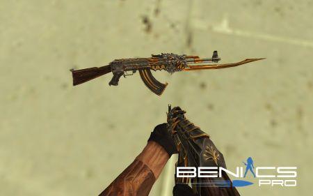"""CS 1.6 AK-47 """"Beast"""" » Плагины, модели оружия, готовые сборки серверов для CS 1.6, CS:GO, CSS"""