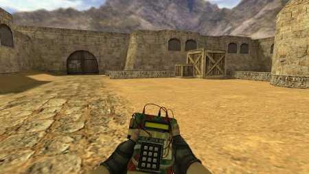 Новогодняя модель бомбы из CS:GO для CS 1.6