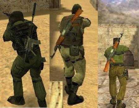 Back Weapons [модели оружия на спине] для кс 1.6
