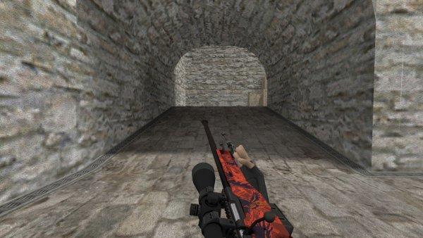 Модель HD AWP «Nevermore» для CS 1.6