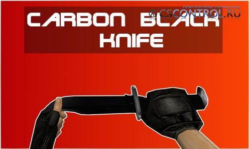 Модель ножа Knife | Carbon Black для CS 1.6