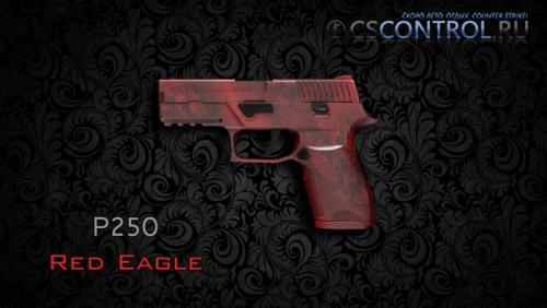 Модель оружия P250   Red Eagle для CS:GO