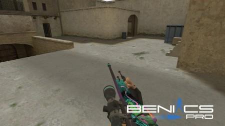 """CS 1.6 HD модель AWP """"Deadly sting"""" » Плагины, модели оружия, готовые сборки серверов для CS 1.6, CS:GO, CSS"""