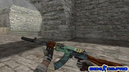 """CS 1.6 Пак HD моделей оружия """"Basildoom"""" » Плагины, модели оружия, готовые сборки серверов для CS 1.6, CS:GO, CSS"""