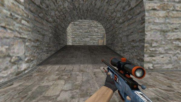 Модель HD AWP «Phantom» для CS 1.6