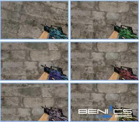 """CS 1.6 Пак моделей оружия """"M4A1 Toxicator"""" » Плагины, модели оружия, готовые сборки серверов для CS 1.6, CS:GO, CSS"""