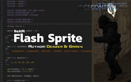 Плагин [ReAPI] Flash Sprite для CS 1.6