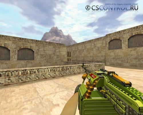 Модель оружия М249 «Пулемет LEGO» для CS 1.6
