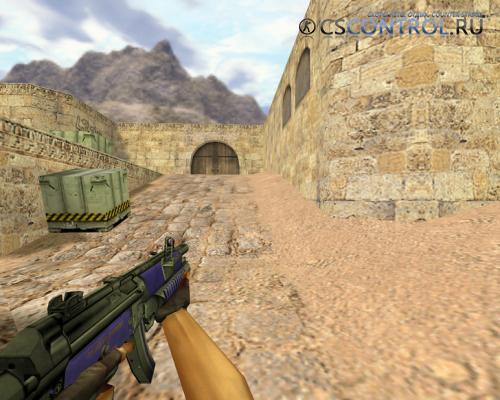 Модель «MP5 Сирень» для CS 1.6