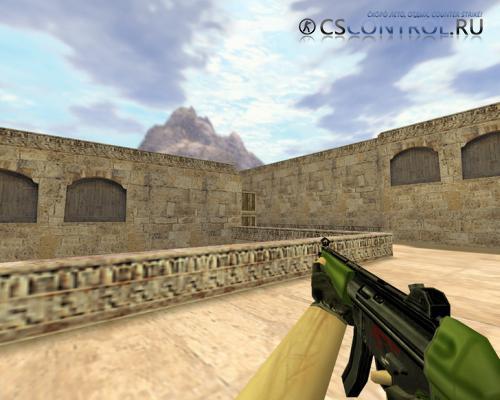Модель «MP5 Олива» для CS 1.6