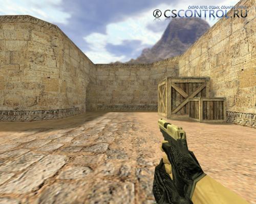 Модель оружия «P228 Золотой» для CS 1.6