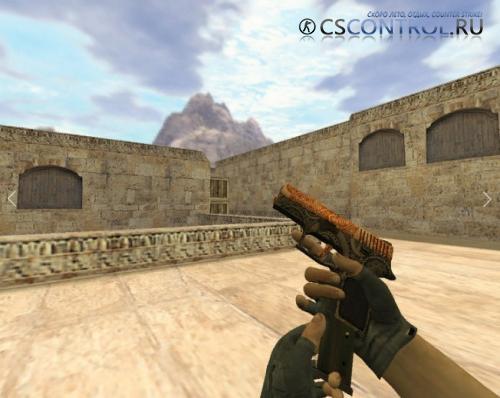Модель оружия «P250 Роспись» для CS 1.6