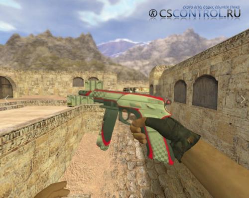 Модель оружия P228 «CZ-75 Поул-позиция» для CS 1.6