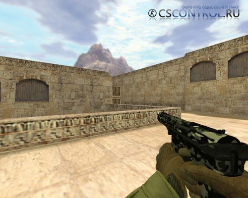Модель оружия P228 «TEC-9 Городской камуфляж» для CS 1.6