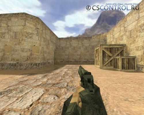 Модель оружия «Deagle Черный» для CS 1.6