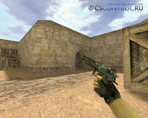 Модель оружия «Deagle Директива» для CS 1.6