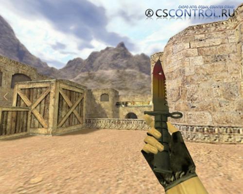 Модель ножа «М9 Градиент» для CS 1.6