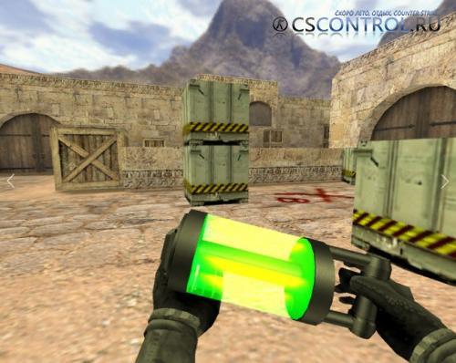 Модель бомбы «Бомба из будущего» для CS 1.6