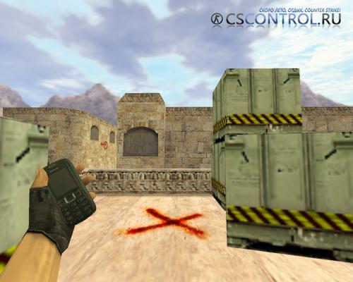 Модель бомбы «Телефон Nokia» для CS 1.6