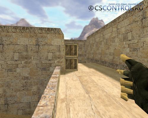 Модель оружия AWP «Пальцествол» для CS 1.6