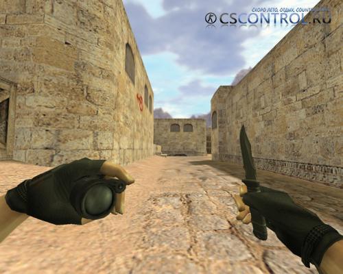 Модель оружия AWP «Метательный нож» для CS 1.6