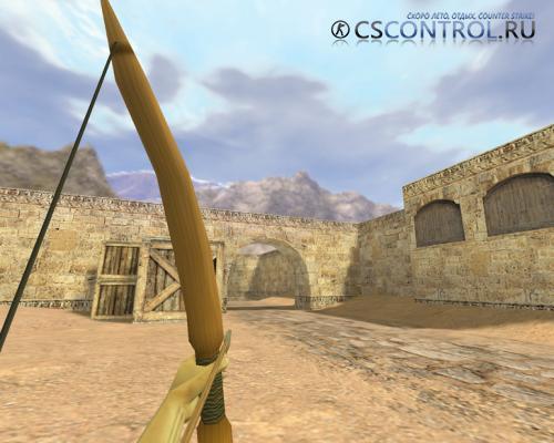 Модель оружия AWP «Деревянный лук» для CS 1.6