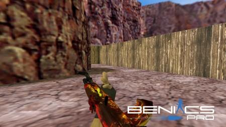 """CS 1.6 Модель оружия AK-47 """"Lycanthrope"""" HD » Плагины, модели оружия, готовые сборки серверов для CS 1.6, CS:GO, CSS"""