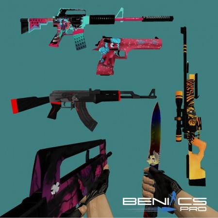 Пак оружия CS 1.6 My Little Pony » Плагины, модели оружия, готовые сборки серверов для CS 1.6, CS:GO, CSS